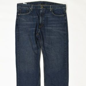 Levis  Big & Tall 42 Blue 42x30 569 Cotton Solid